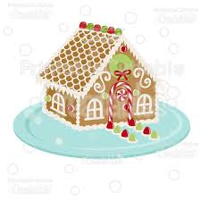 christmas gingerbread house christmas gingerbread house svg cut file clipart