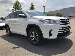 toyota sport utility vehicles new 2017 toyota highlander le sport utility in tallahassee