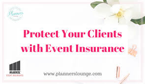 Event Insurance Wedding Planner Resources The Planner U0027s Lounge Resources For
