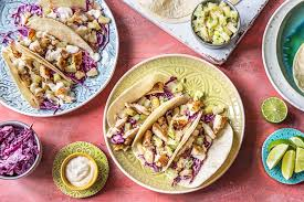 tutti cuisine tutti frutti fish tacos recipe hellofresh
