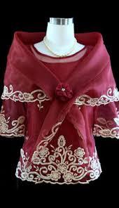 kimona dress burgundy kimona with alay 5468 barongs r us
