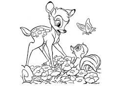 bambi and weasel coloring pages trend 204391 coloring pages for