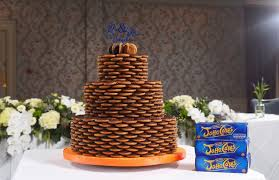 wedding cake estimate brought together by jaffa cakes wedding cake covered