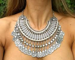 choker style necklace sale images Hot sell heavy silver zamac necklace jewellery turkey costume jpg
