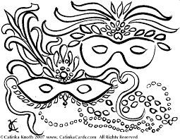 mardi gras coloring pages print coloring
