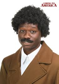 coming to america wedding dress coming to america soul glo wig