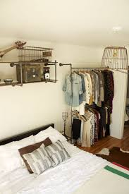 clothes rack bedroom
