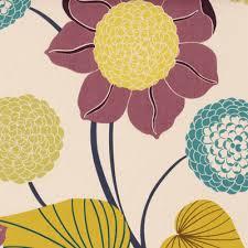 Discount Designer Curtain Fabric Uk Mulberry Delilah Curtain Fabric Blue Green Purple Cheap Uk