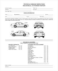 car damage report template image result for vehicle damage inspection form template vehicle