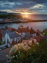whitby summer solstice sunset by joe cornish travel england