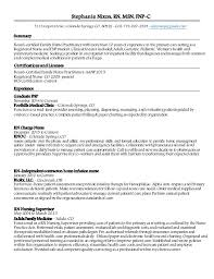 Family Nurse Practitioner Resume Examples by Snixon Npfp Resume