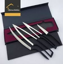 ebay kitchen knives 4pc set premium 5cr17mov stainless steel deglon meeting knife