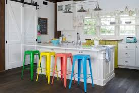 colorful kitchen islands 25 portable kitchen island ideas with seating photos galleries