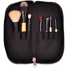 new professional travel size 7 pcs cosmetics makeup brush set with