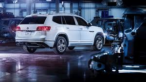 black volkswagen atlas 2018 volkswagen atlas r line revealed autoevolution