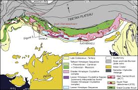 Frontal Boundary Map Cenozoic Tectonic History Of The Himachal Himalaya Northwestern
