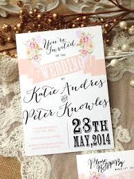 rustic wedding invitation suite unique custom designed wedding