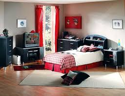 Boys Room Curtains Boys Room Interior With Black Red Theme Also Tall Window Curtains