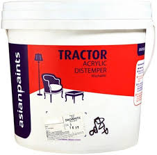 asian paints tractor acrylic distemper clear distemper wall paint