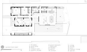 ground floor plan gallery of the pool house luigi rosselli architects 22