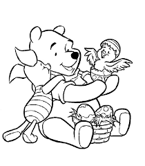 48 coloriages winni u0027ourson images disney