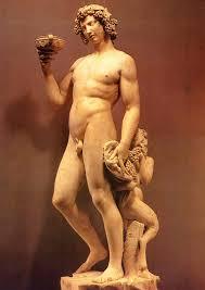 dionysus greek god statue adonis demeter persephone dionysus