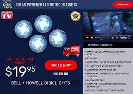 everbright solar light reviews bell howell disk lights review solar outdoor lights freakin