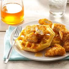 Main Dish Chicken Recipes - chicken u0026 waffles recipe taste of home