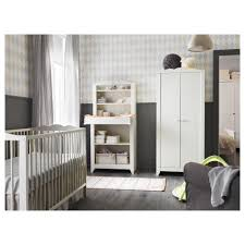 Cribs With Attached Changing Table by Hensvik Crib Ikea