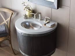 Wine Barrel Vanity Bathroom Wall Mounted Bathroom Sink 17 Vnw248 Bordeaux Wall