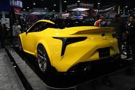 lexus lc 500 auto show world u0027s first tuned lexus lc 500 debuts autoguide com news