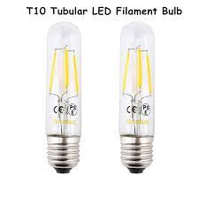 Led Chandelier Bulb E26 Led Chandelier Bulb T10 4w Tubular Filament L 110v