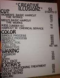 hairstyle price list best 25 hairdresser price list ideas on pinterest hair salon