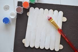 penguin craft popsicle stick project for kids darice