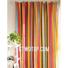 Red White Striped Curtains Interesting Yellow Striped Curtains And Cabana Stripe Yellow