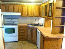 Best Deal On Kitchen Cabinets Kitchen Cabinets For Mobile Homes Design Homemadehomes Replacement