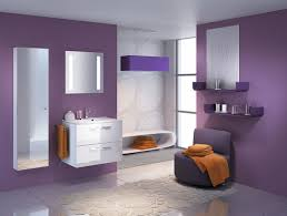 bedroom amuse for girls with purple color scheme and beautiful