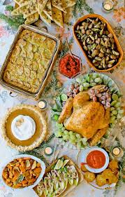 125 best thanksgiving dinner images on coconut