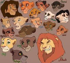 lion king characters dump beestarart deviantart