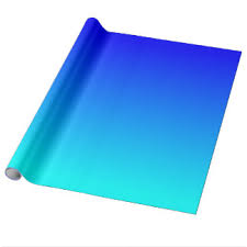 ombre wrapping paper gradient blue ombre wrapping paper zazzle au