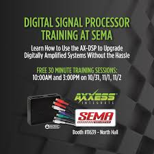 metra electronics to host ax dsp training at the 2017 sema show