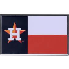 Guinea Ecuatorial Flag Houston Astros Texas Flag Colored Aluminum Car Auto Emblem