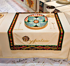 judy chicago dinner table brooklyn museum hypatia
