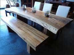 cuisine bois table de cuisine bois exotique for comment faire une