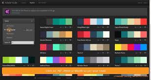 get most popular color palette from adobe kuler youtube