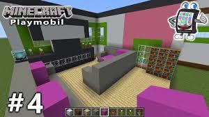 Minecraft Wohnzimmer Modern Minecraft Playmobil Luxusvilla Bauen 4 Das Riesige Wohnzimmer