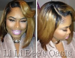 bob hair extensions with closures li li bee s oasis beyonce ciara inspired asymmetrical bob