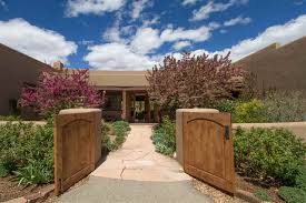 The Santa Fe New Mexican Homes For Sale In Seton Village Arroyo Hondo Sunlit Hills Along
