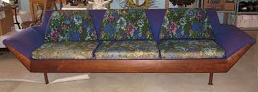 Adrian Sofa Adrian Pearsall Chair U0026 Flexsteel U0027gondola Style U0027 Sofa
