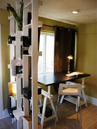 wondrous small home office solutions standing floating wall desk
